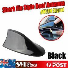 Upgrade Shark Fin Look Antenna Radio AM& FM Booster Car Aerials Black Big Bottom
