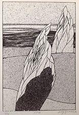 WOLFF BUCHHOLZ Lithographie Signée 1971 Tirage:20ex. Abstrait Organique 47ans