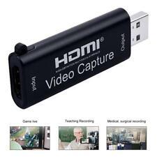 Video Capture Card HDMI USB 2.0 HD 1080P Live Streaming Recorder Grabber