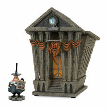 DEPARTMENT 56 Halloween Town City Hall Nightmare Before Christmas MINT NEW