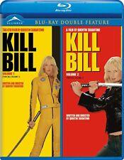 Kill Bill Vol. 1 & 2 (Blu-ray Disc, 2010, Bilingual) Free Shipping In canada