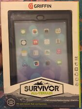 Griffin Survivor All-Terrain Cover For iPad Mini - Black GB35918