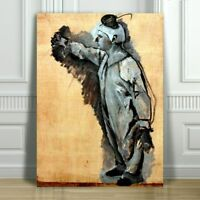 TOULOUSE LAUTREC - Clown - CANVAS ART PRINT POSTER - 18x12""