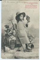 CPA- Carte postale -Bergeret - Le Petit Jardinier - 2