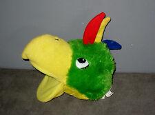 PelucheMarionnette à Main Sonore oiseau Perroquet siffleur( Haut: 22 cm )
