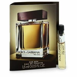 The One by Dolce & Gabbana Vial (sample) .05 oz (Men)