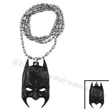 "Hero The Dark Knight Rise Batman Mask 70cm / 28"" Metal Necklace"
