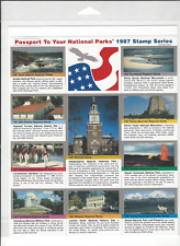Passport To Your National Parks 2010 Stamp Series Sealed Self Adhesive Set of 10