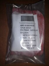 Lot of 2 30 Gram Red Meteorological Weather Balloons New. Free Shipping!