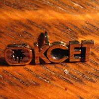 KCET Television Lapel Pin - Vintage Los Angeles Burbank California USA Hat Pin