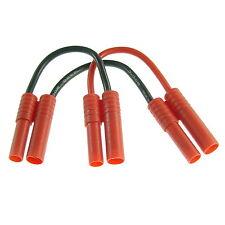 HXT CONECTORES DE ORO 4mm para Series Interruptor de 2 Lipo Cable adaptador