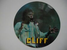 """CLIFF RICHARD Down The Line / Baby I Don't Care PICTURE DISC 45 7"""" Denmark"""