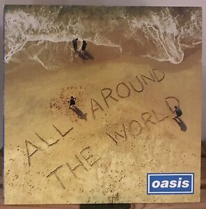 """Oasis - All Around The World 12"""" Vinyl Record Liam Gallagher"""