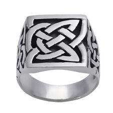 Herren-Ringe im Siegel-Stil aus Sterlingsilber