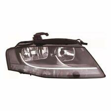 Für Audi A4 Mk3 3/2008-5/2012 Scheinwerfer Schwarz UK Rechte Seite O/S