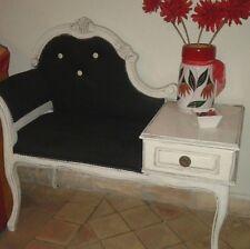 poltrona sedia noce antica porta telefono salotto mobili antichi anni 50 60