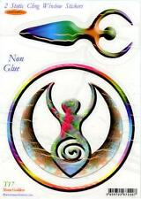 Moon Goddess - Static Cling Window Sticker