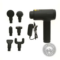 USED Medcursor MMG0301 Heated Massage Gun in Black - 12 Speeds / 6 Heads