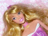 Disney Fashion Barbie Doll AURORA SLEEPING BEAUTY Pink Streak for OOAK or Custom