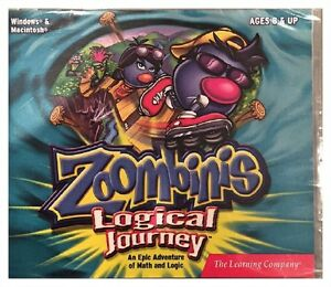 Zoombinis Logical Journey Pc Mac Brand New Win10 8 7 XP 4 Levels of Difficulty