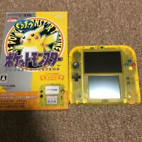 Nintendo 2DS Pikachu Pokemon Center store limited pack Japanese