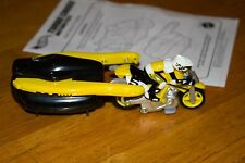 2000 Hot Wheels Motorized Turbo Cross Motorcycle Stunt Bike