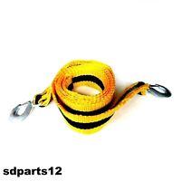 Corde Cable Sangle De Remorquage Traction 3m 8 Tonnes 8000 Kg Largeur: 70mm