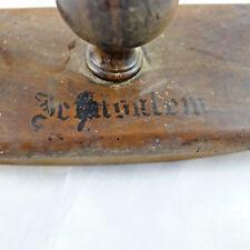 souvenir desk set tampone jerusalem judaica antique buffer swab STILOGRAFICA PEN