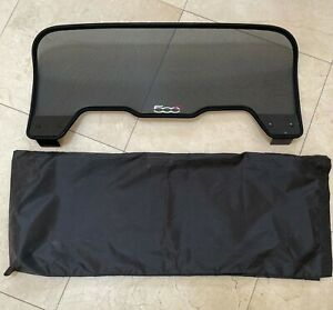 FIAT 500C ABRATH 12-17 GENUINE OEM AIR WIND SCREEN DEFLECTOR, P# 735511779