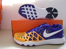 New Nike Train Speed 4 Amp LSU Tigers training Shoes sz 10.5
