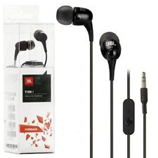 Imported JBL T100A In Ear Sound Wired Earphones With Mic