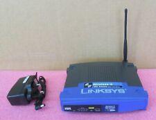 Linksys Wireless-G ADSL Gateway with 4-Port Switch WAG54Gv2 Router Desktop