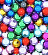 acrylic miracle beads , round, assorted, options for size 4, 6, 8, 10, 12 mm