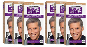 Just For Men Touch Of Gray, Takes Away Some Gray, T25 Light Brown (6 Pack)