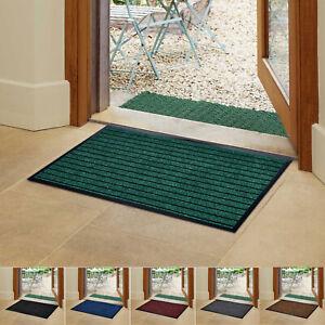 Non-Slip Dirt Trapper Rubber Door Mats Kitchen Waterproof Floor Mat Runner Rug