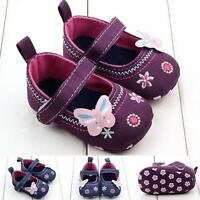 Fashion Baby Girl Shoes Butterfly Soft Sole Toddler Shoes Soft Sole Prewalker AU