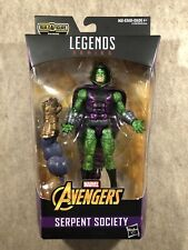 Marvel Legends Avengers Serpent Society: King Cobra (Thanos BAF) Action Figure
