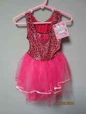 Princess Expressions Pink Leopard Dress Role-Play Costume Size Small
