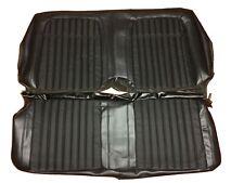 1969 Camaro Seat Covers Chevrolet Hardtop Rear Back Deluxe Upholstery Skin Black