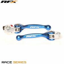 RFX Race Forged Flexible Lever Set Blue TM 125/250/250FI/450FI 02 13-16