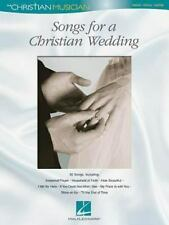 Songs for a Christian Wedding: The Christian Musician-ExLibrary