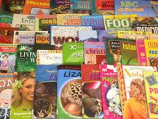 Children's Non-Fiction Books, LARGE box of 40+ books, Job Lot