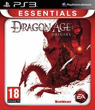 Essentials Dragon Age Origins PS3 Playstation 3 IT IMPORT ELECTRONIC ARTS