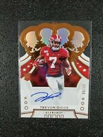 🔥🔥📈  TREVON DIGGS 2020 Panini Chronicles Crown Royale Auto #'d 28/99 Alabama