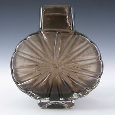 Whitefriars/Baxter Cinnamon Textured Glass Sunburst Vase #9676