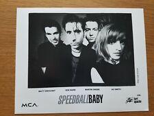 SPEEDBALL BABY 8x10 BLACK & WHITE Press Kit Photo 90's GARAGE BLUES ROCK Band