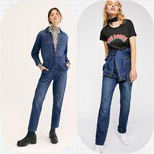 Lee Vintage Modern Union Coveralls Denim Jumpsuit Free People