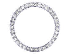 Stainless Steel U Shape Prong Diamond Bezel for Rolex 40MM/ 41MM Watch 4.5 Ct