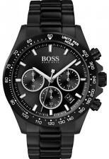 Hugo Boss Men's Hero Sport Lux Black Stainless Steel Watch HB1513754