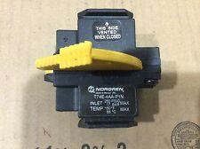 """Norgren T74E-4AA-P1N 1/2"""" shut off valve NOS"""